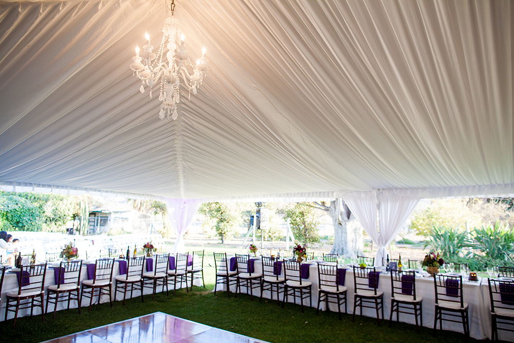 Pleated tent liner