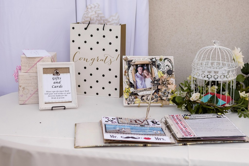 Backyard Wedding Guest Book