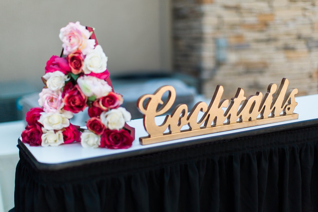 Cocktail Hour Boho wedding